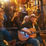 Scooter Pearce at Luckenbach, TX